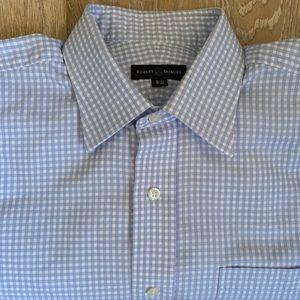 Robert Tabott Checked Dress Shirt